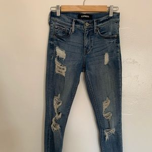 Express Mid-Rise Jean